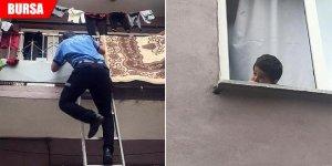 Polisi ve itfaiyeyi harekete geçiren çocuk! Anneden pes dedirten açıklama