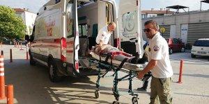 Mobilya imalathanesinde kaza: 1 yaralı