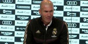 Zidane'dan Fenerbahçe maçı öncesi mesaj