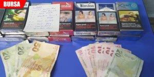 Büfe hırsızları polisten kaçamadı