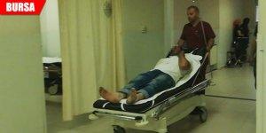 Abi kardeşin kasa kavgasında kan aktı