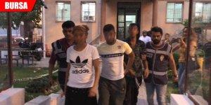 Uyuşturucu satıcıları arasında bıçaklı kavga
