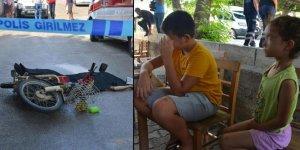 Sokak ortasında dehşet saçtı: Gözleri önünde babasını öldürdüler