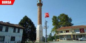 Camisiz minare, köyün sembolü oldu
