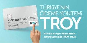 TROY logolu 9 milyon kart
