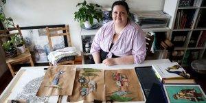 Kanadalı Müslüman kadın sanatçı, seyyahları minyatüre taşıyor
