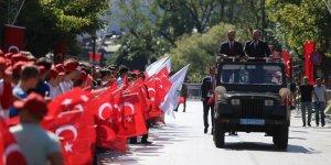 Bursa'da Zafer Bayramı coşkusu
