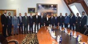 MHP'den Bursaspor'a üst düzey ziyaret