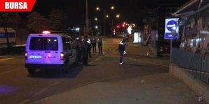 Gece kulübü önünde silahlı kavga