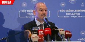 Bakan Soylu'dan Bursa'da önemli açıklamalar
