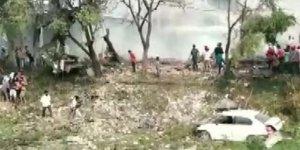 Havai fişek fabrikasında patlama: 16 ölü