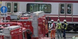 Japonya'da tren kazası: En az 30 yaralı