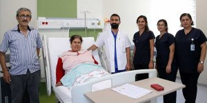 Kilo aldığını düşünen kadının rahminden 7 kilogramlık tümör çıktı