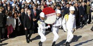 CHP heyetinden Anıtkabir'e ziyaret