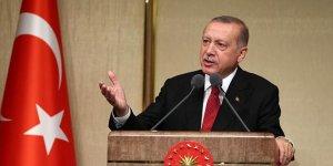 Erdoğan: 50 bin TIR'la mühimmat gönderilmesi kabul edilemez