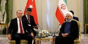 Üçlü zirve öncesi Ruhani ile ikili görüşme