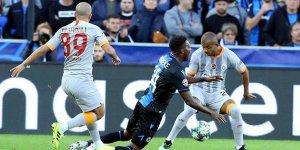 Galatasaray Şampiyonlar Ligi'ne bir puanla başladı
