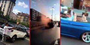 İstanbul'da E-5'te terör estiren 6 düğün magandaları tutuklandı