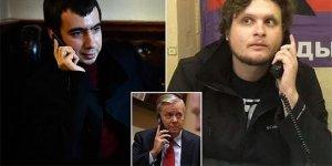 Rus komedyenler Graham'ı fena işletti