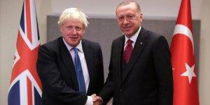 Cumhurbaşkanı Erdoğan ile Boris Johnson görüştü