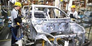 Otomotiv üretimi azaldı