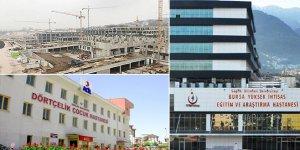 Bursa'daki 3 hastaneye yeni görev