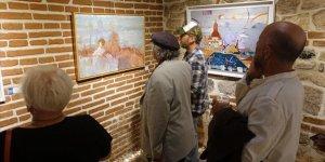 Türk ve Rus sanatçılardan ortak sergi