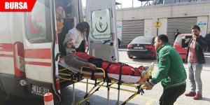 Üzerine sunta paleti devrilen işçi yaralandı