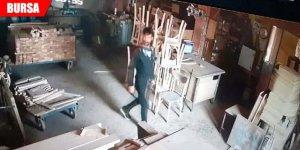 İşyerine giren hırsızı sosyal medyada arıyor