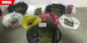 Uyuşturucuya geçit yok: 1 tutuklama