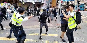 Polis gerçek mermi kullandı
