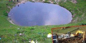 Dipsiz Göl'deki define kazısı ile ilgili flaş gelişme