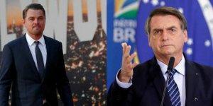 Bolsanaro: Amazonlar'ı Di Caprio yaktırdı