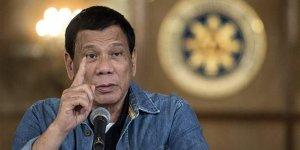 Duterte'den şok tehdit