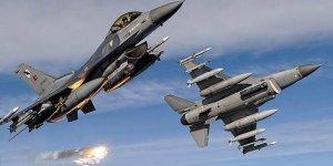 TSK: Kuzey Irak'a hava harekatında 13 terörist öldürüldü