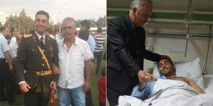 Bursalı teğmen Nusaybin'de yaralandı