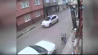 Tüp hırsızı kamerada