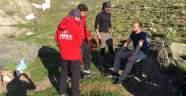 Uludağ'da kampta ayı paniği