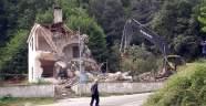 28 yıl süren dava sonunda köy konağı yıkıldı