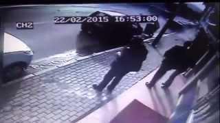 Bursa'da feci kaza böyle görüntülendi!