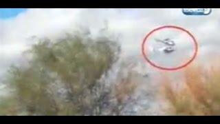 Survivor kazasında helikopterlerin çarpışma anı böyle görüntülendi