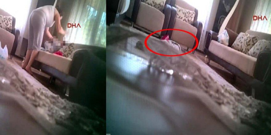 Anne dehşetini gizli kamera ortaya çıkardı!