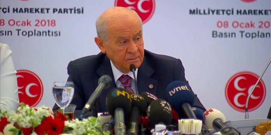 Bahçeli: MHP Erdoğan'ı destekleyecek