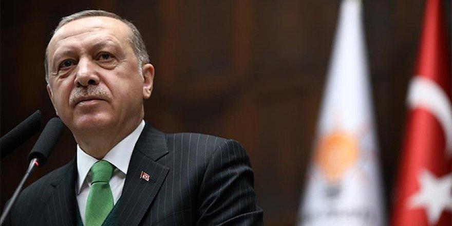 Cumhurbaşkanı Erdoğan, grup toplantısında konuştu