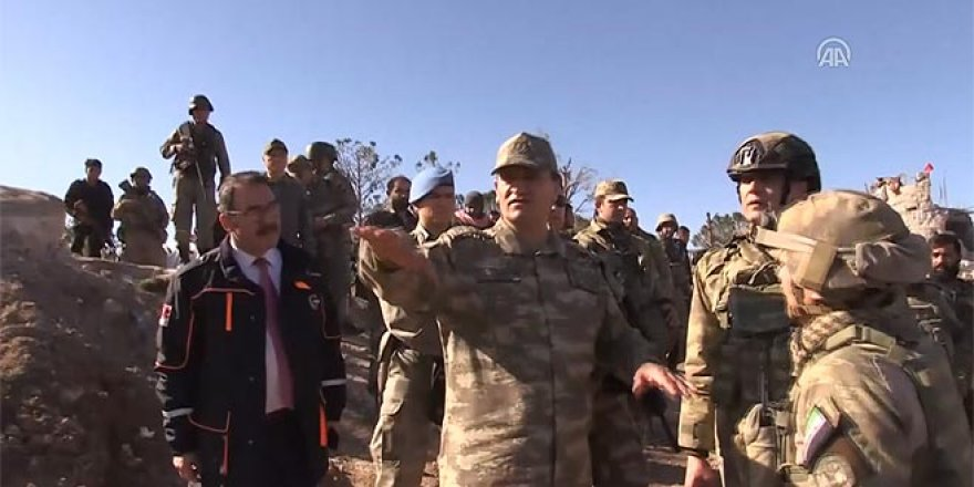 2. Ordu Komutanı Burseya Dağı'nda