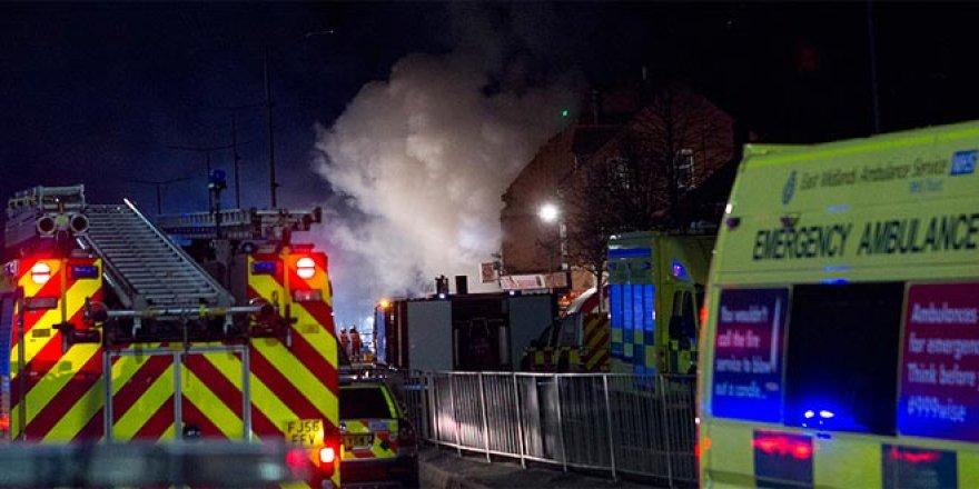 İngiltere'de patlama