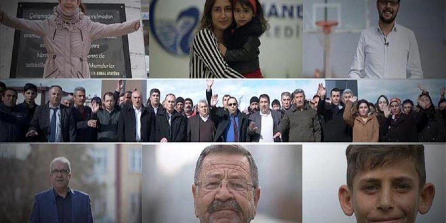 Gençlerden Cumhurbaşkanı Erdoğan'a doğum günü filmi