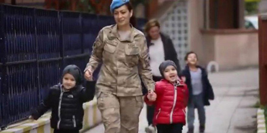Jandarmadan Dünya Kadınlar Günü klibi