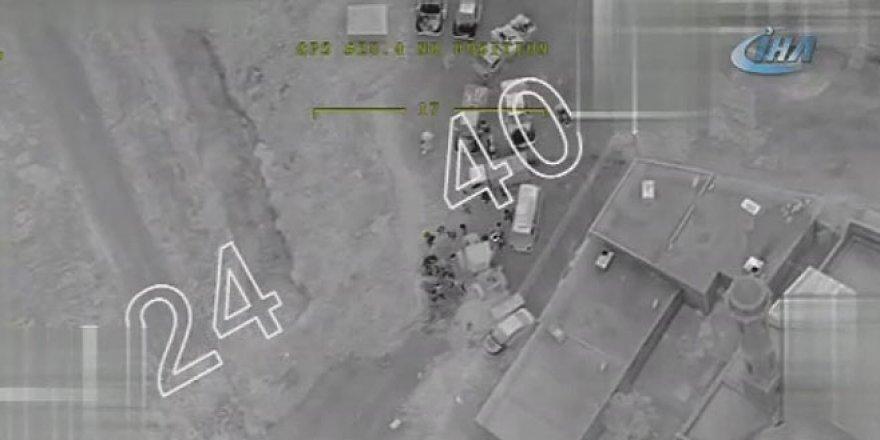 Afrin'den yeni görüntü! Siviller engelleri böyle aşıyor...