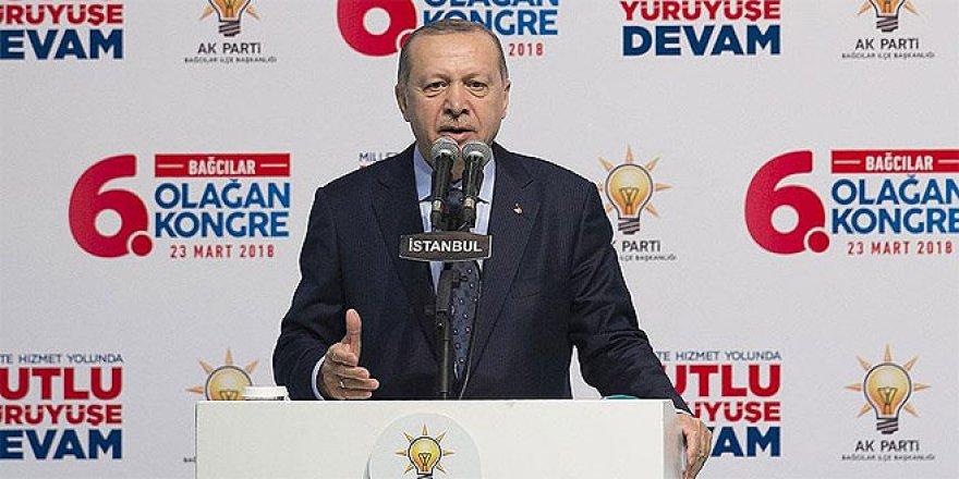 Erdoğan: Afrin'de iş bitmeyecek, devamı var